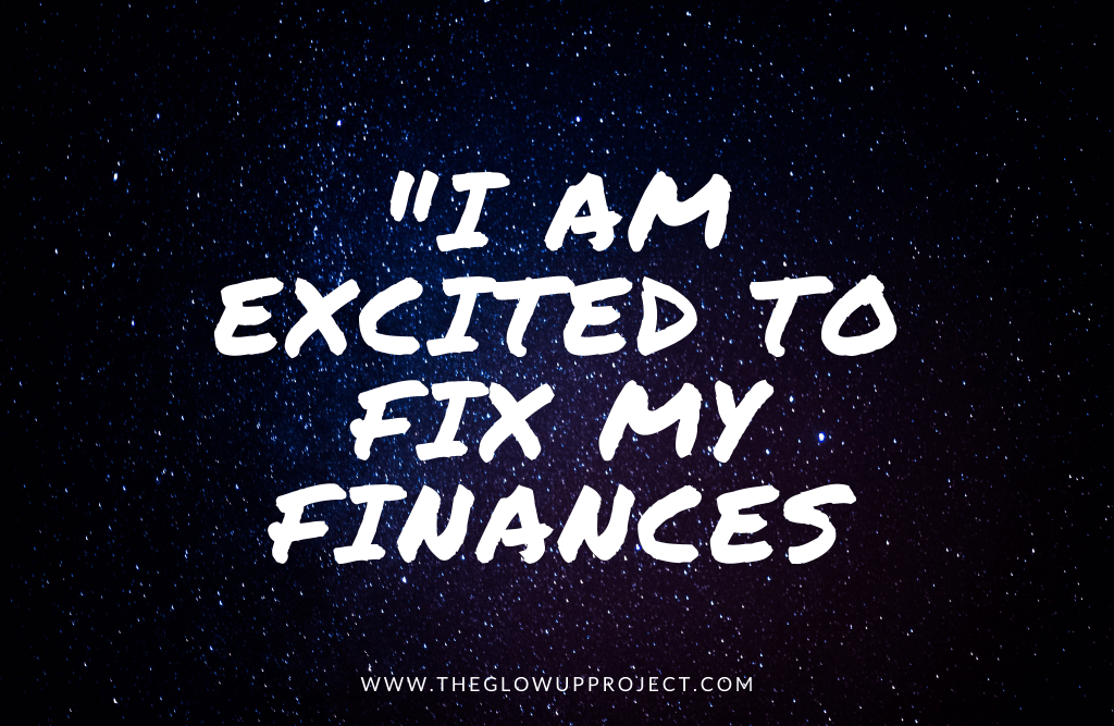 financial affirmations