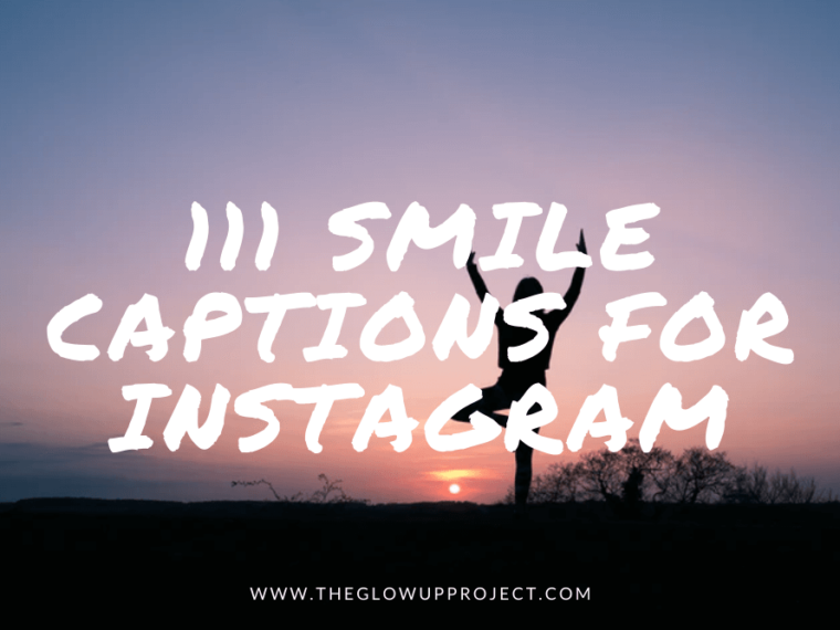 smile captions for instagram
