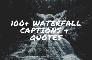 waterfall captions for instagram